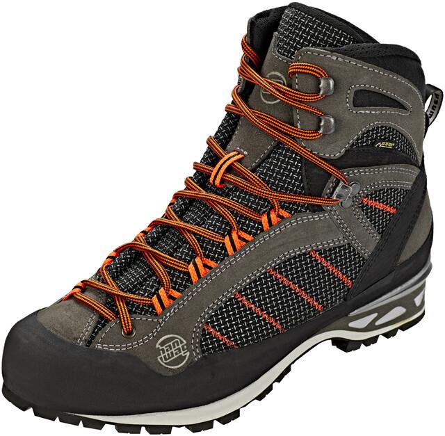 Herren Hanwag Shoes Makra Asphaltorange Gtx Combi PkTuOXiZ